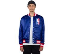SB x NBA Bomber Jacket white