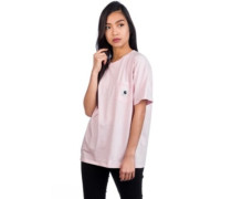 Carrie Pocket T-Shirt sandy rose ash heather