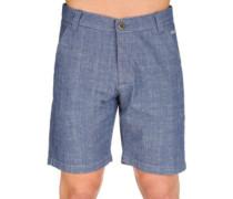 Miami Chino Shorts indigo chambray
