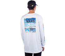 AVE Chrome Long Sleeve T-Shirt white