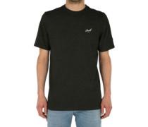 Small Script T-Shirt dark grey melange