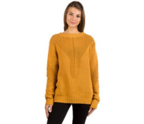 Take Over The World Pullover spruce yellow