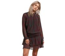 Zebom Dress burgundy