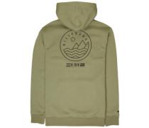 Surf Trek Hoodie lt military