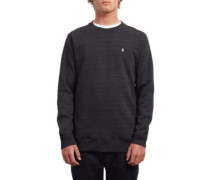 Single Stone Crew Sweater sulfur black
