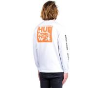 International Block T-Shirt LS white