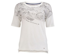 Garment Wash T-Shirt powder white