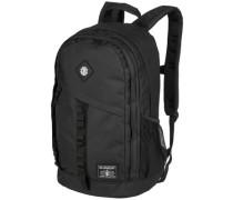 Cypress Backpack black grid heather