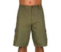 Foundation Cargo Shorts dark brush