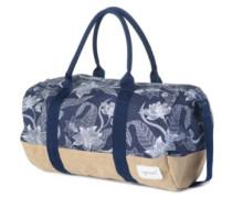 Yamba Round Duffle Travelbag navy