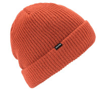 Sweep Lined Beanie burnt orange