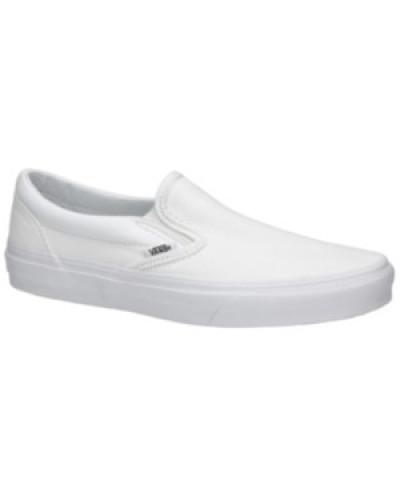 Classic Slip Ons true white