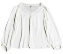 Lower East Life T-Shirt LS marshmallow