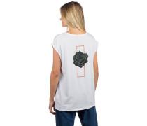 BT Rose 2 Backprint T-Shirt white