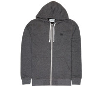 All Day Zip Hoodie black