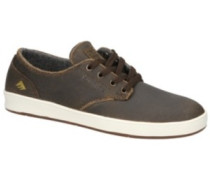 The Romero Laced Skate Shoes gold