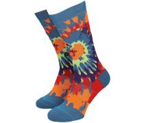 Psych Rainbow Crew Socks multi