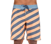 "Stripey Stoney 19"" Boardshorts summer orange"