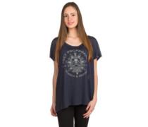 Think & Create T-Shirt dusty navy
