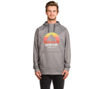 Crown Bonded Hoodie monument heather