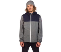Alder 2 Tones Jacket mid grey htr