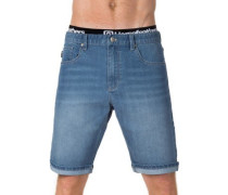 Flip Denim Shorts light blue