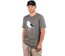 Gull 3 T-Shirt heather dusty olive