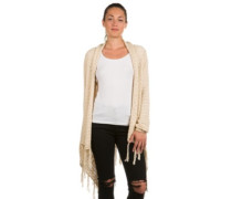 Kniitted Cover Up Cardigan creme brulee