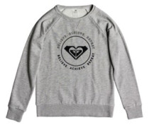 Sunrise Delicacy Fleece A Sweater heritage heather