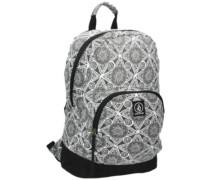 Schoolyard Canvas Backpack black