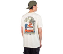 Coastal Vibes T-Shirt cream