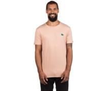 Search Badge T-Shirt mahogany rose