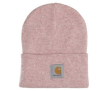 Acrylic Watch Beanie soft rose heather