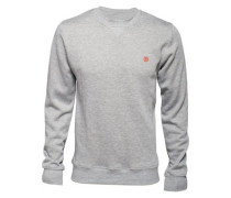 Cornell Classic Crew Sweater grey heather