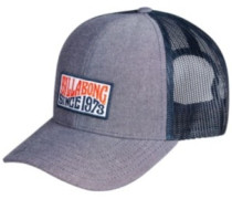 Walled Trucker Cap Youth indigo