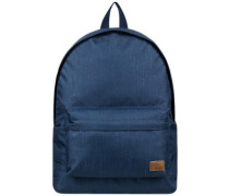 Sugar Baby Solid Backpack dress blues