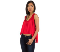 After All Tank Top sunset red