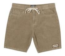 The Cord Shorts khaki