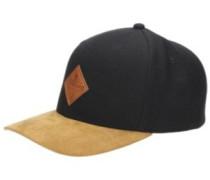 Mixed Snapback Cap black