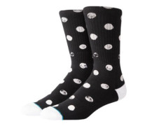 Dot Vibes Socks black