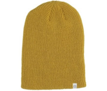 Toque Knit Slouch Beanie harevest gold