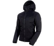 Rime In Flex Hooded Outdoor Jacket black-phantom