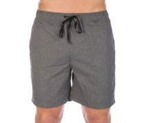 O&O Heather Volley 17' Boardshorts black