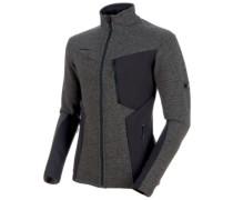 Stoney Ml Wool Fleece Jacket phantom-titanium melange