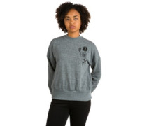 Stayin High Fleece Sweater charcoal