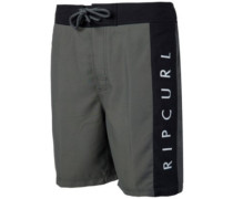 "Semi-Elastic Authentic 19"" Boardshorts charcoal"