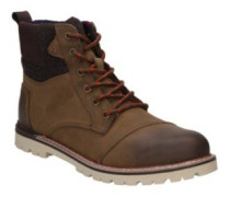 Ashland Shoes brown brushed leather woo