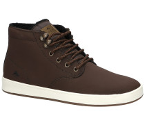 Romero Laced High Shoes brown