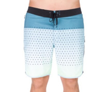 Phantom Motion Third Reef Boardshorts noise aqua