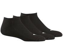 Trefoil Liner Socks white